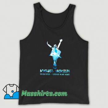 Michael Jackson Forever In My Heart Tank Top