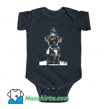 Michael Jackson King Of Pop Baby Onesie