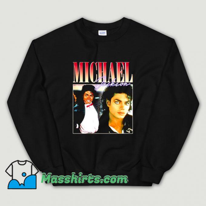 Awesome Michael Jackson Photos Sweatshirt