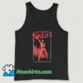 Michael Jackson Thriller Dance Pose Tank Top On Sale