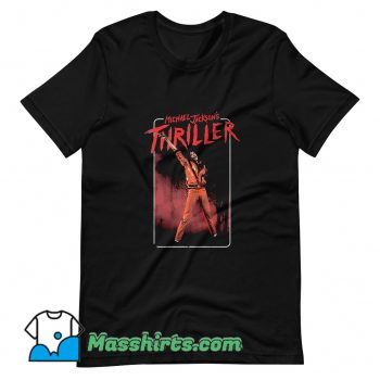 Michael Jackson Thriller Dance Pose T Shirt Design