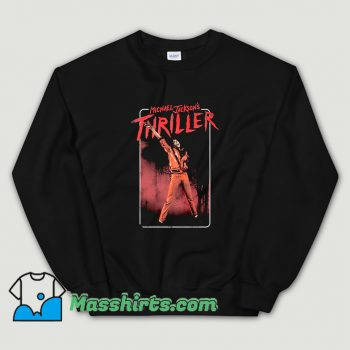 Michael Jackson Thriller Dance Pose Sweatshirt