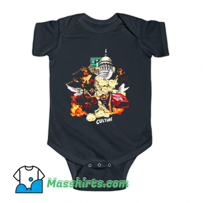 Migos Culture Rap Hip Hop Music Baby Onesie