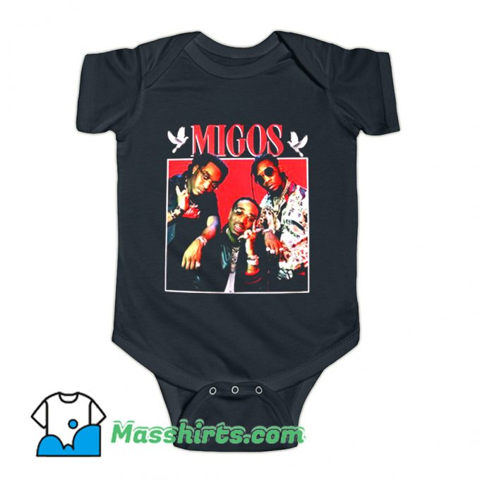 Hip Hop Grub Photo Migos Baby Onesie