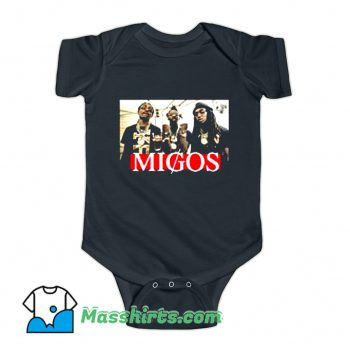 Migos Music Group Baby Onesie On Sale