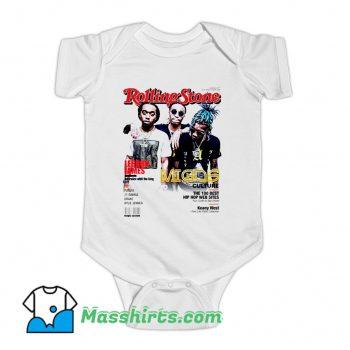 Migos Rolling Stones Cover Baby Onesie