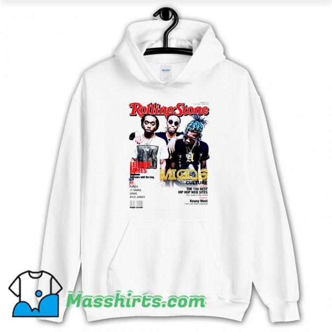 Migos Rolling Stones Cover Hoodie Streetwear