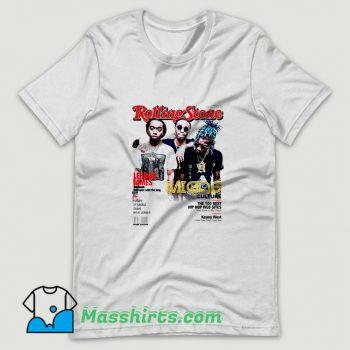 Original Migos Rolling Stones Cover T Shirt Design