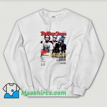 Funny Migos Rolling Stones Cover Sweatshirt