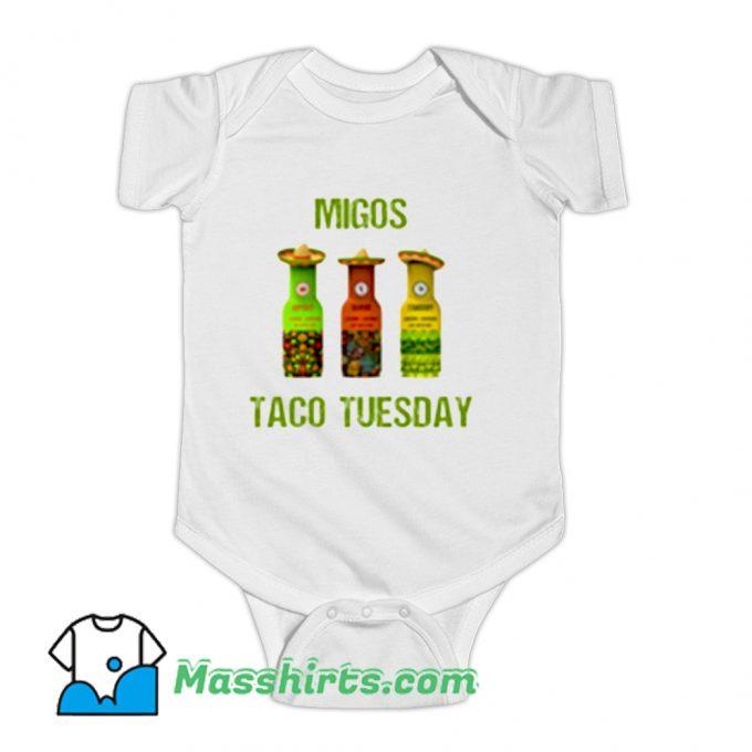 Migos Taco Tuesday Baby Onesie