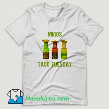 Cool Migos Taco Tuesday T Shirt Design