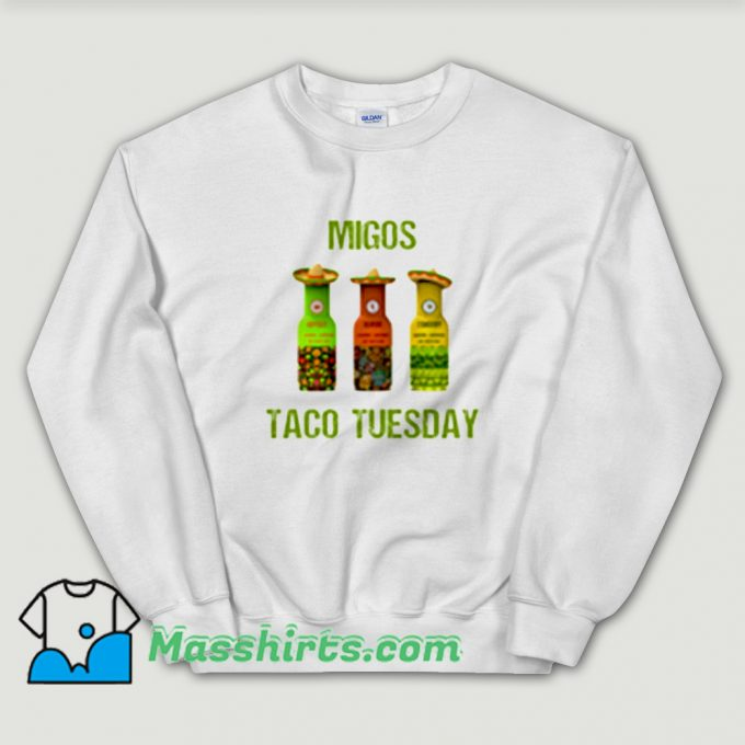 Classic Migos Taco Tuesday Sweatshirt