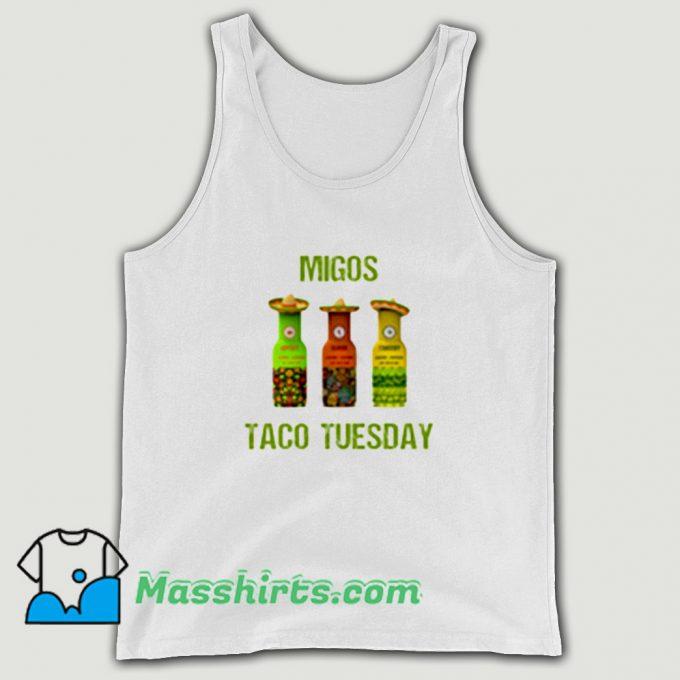 Original Migos Taco Tuesday Tank Top