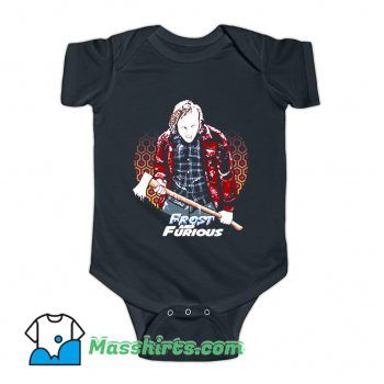 My Father Frost & Furious Holding The Ax Baby Onesie