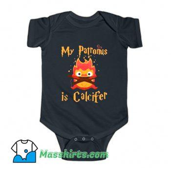 My Patronus Is Calcifer Baby Onesie