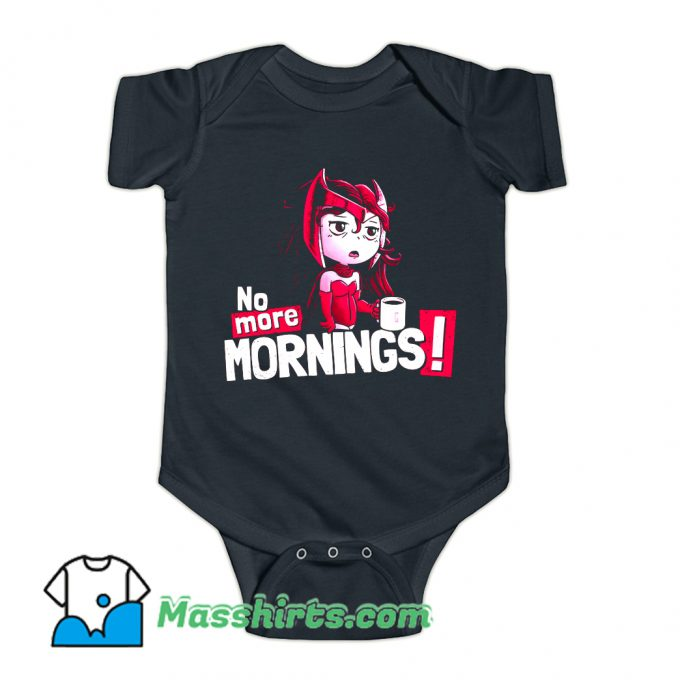 No More Sunny Mornings Baby Onesie