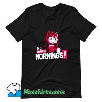No More Sunny Mornings T Shirt Design
