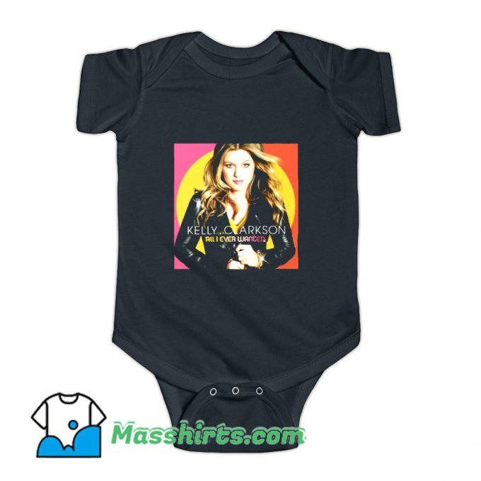 Photo Kelly Clarkson Tour 2019 Baby Onesie On Sale