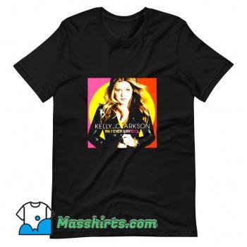 Photo Kelly Clarkson Tour 2019 T Shirt Design