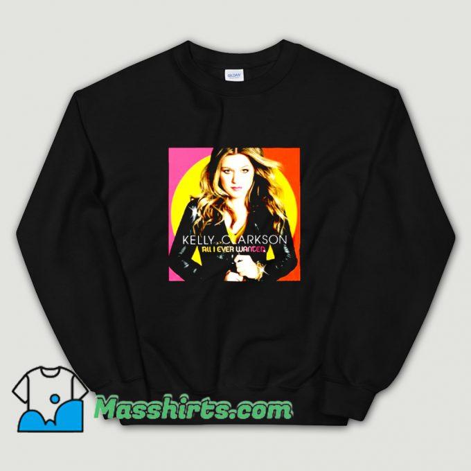 Photo Kelly Clarkson Tour 2019 Sweatshirt