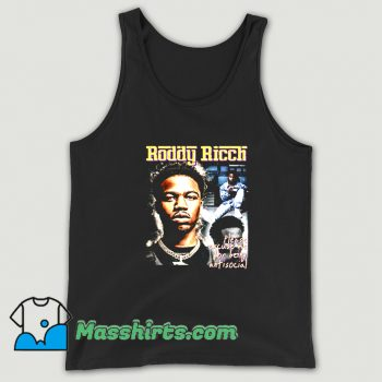 Original Please Being Antisocial Roddy Ricch Tank Top