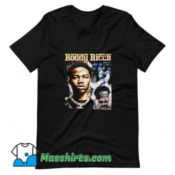Please Being Antisocial Roddy Ricch T Shirt Design