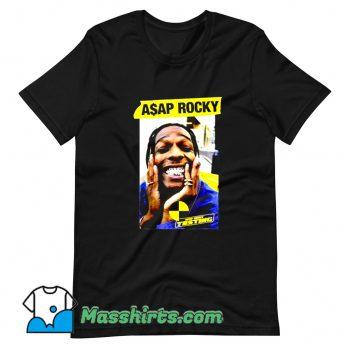 Vintage Rap Music Hip Hop Asap Rocky T Shirt Design