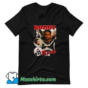 Funny Rap Photos Hip Hop Roddy Ricch T Shirt Design