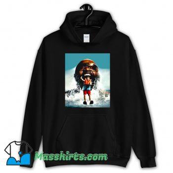 Rapper Rick Ross Jaws Parody Hoodie Streetwear