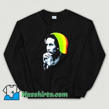 Reggae Bob Marley Knitted Hat Sweatshirt