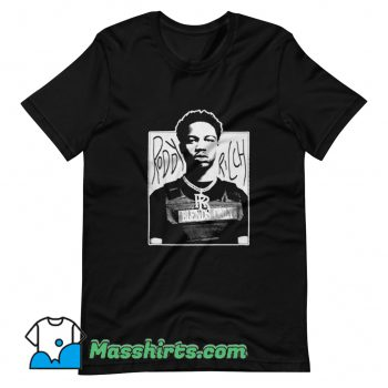 Roddy Ricch American Rapper T Shirt Design