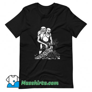 Scary Zombie Hide & Seek T Shirt Design