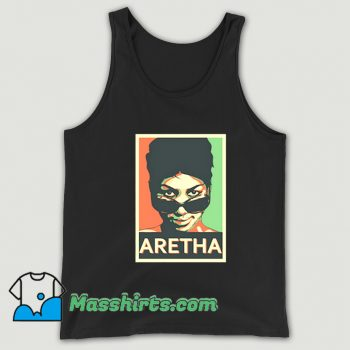 Vintage Shades Aretha Franklin Tank Top