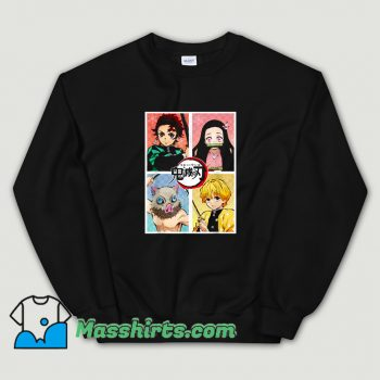 Cool Slayer Demon Anime Sweatshirt