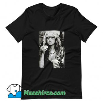 Funny Stevie Nicks Photoshoot T Shirt Design