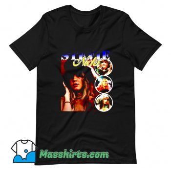 Stevie Nicks Retro 90s T Shirt Design