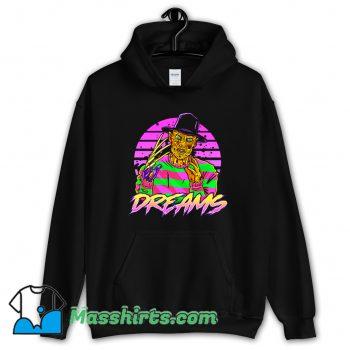 Synth Dreams Horror Hoodie Streetwear
