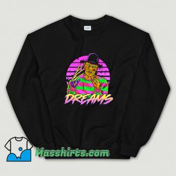 Original Synth Dreams Horror Sweatshirt