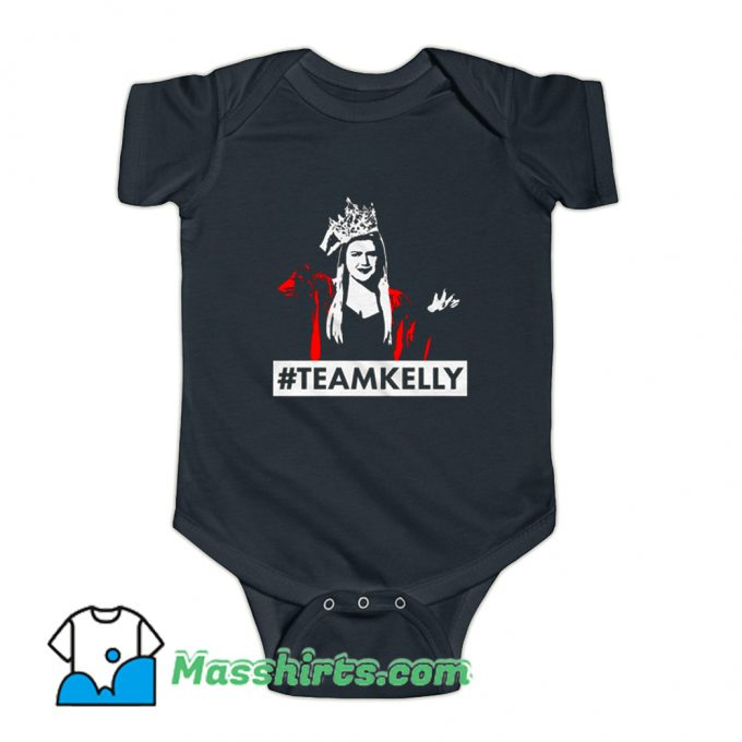 Hastage Team Kelly Clarkson Baby Onesie