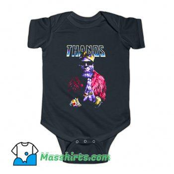 Vintage Thanos Rapper King Baby Onesie