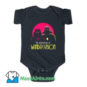 The Adventures Of Wandavision Superhero Baby Onesie