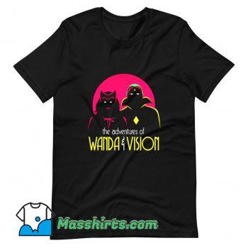 The Adventures Of Wandavision Superhero T Shirt Design