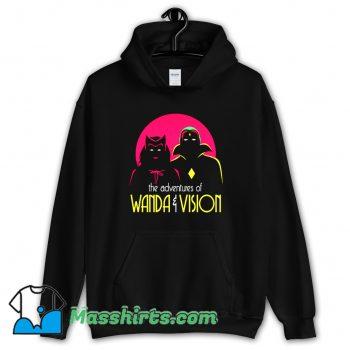 The Adventures Of Wandavision Superhero Hoodie Streetwear