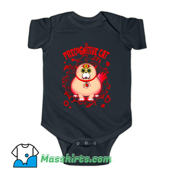 The Precognitive Cat Baby Onesie On Sale
