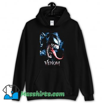 Tongue Out Poster Marvel Venom Hoodie Streetwear