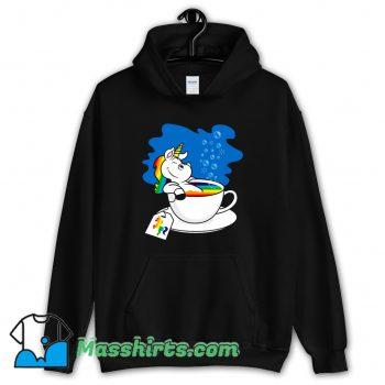 Unicorn In A Cup Of Tea Hoodie Streetwear