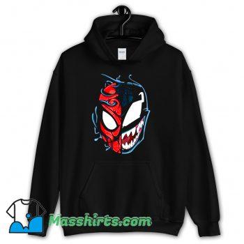 Venom Spider Man Big Face Hoodie Streetwear