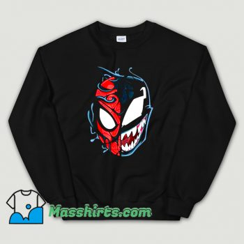 Venom Spider Man Big Face Sweatshirt
