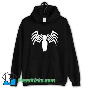 Cool Venom Spider Man Logo Hoodie Streetwear