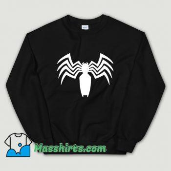 Vintage Venom Spider Man Logo Sweatshirt